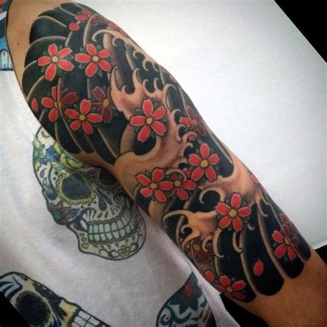 japanese forearm tattoo designs 100 cherry blossom designs for floral ink