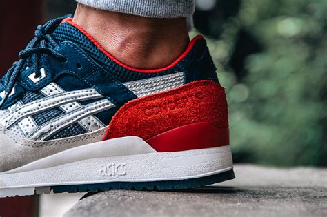 Asics Gel Lyte Iii Conceps Boston Tea concepts x asics gel lyte iii boston tea party the daily cloth