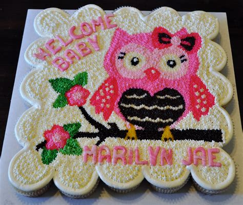 How To Make Owl Cupcakes For Baby Shower by Owl Inspired Baby Shower Cupcake Cake By Summer S Sweet