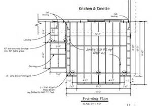 floor framing plans deck joist installation deck building step by step part 4