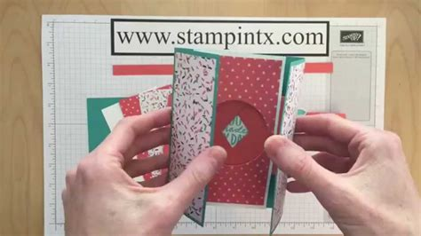 card tutorial step by step tutorial for creating a shutter card
