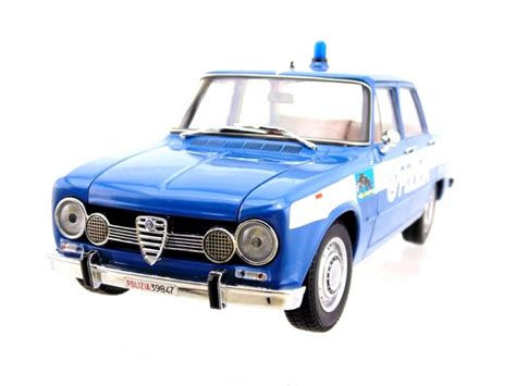 squadra volante alfa romeo giulia 1600cc polizia 1970 squadra