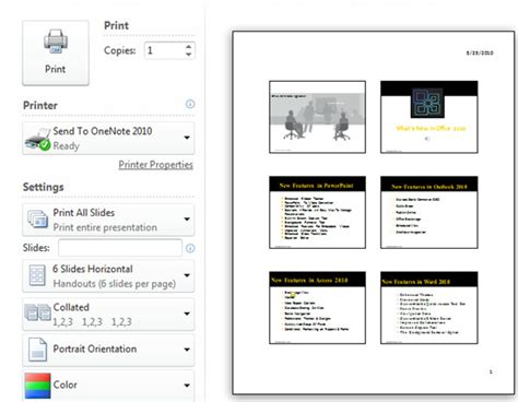 powerpoint handout template how to print handouts in powerpoint 2010