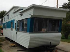 one bedroom trailers for sale 1954 quot two story quot vintage travel trailer for sale