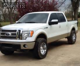 2010 Ford F150 Leveling Kit Wheel Offset 2010 Ford F 150 Aggressive 1 Outside Fender