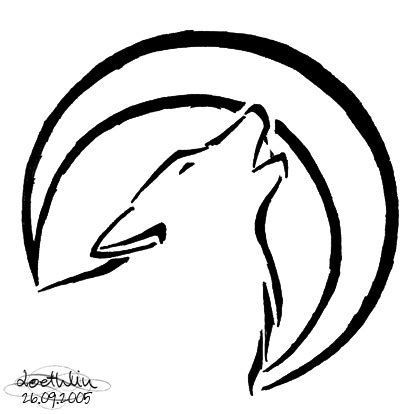 easy wolf tattoo designs wolf tattoo wolf clan tat idea definately getting this