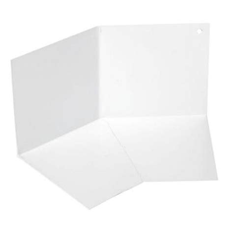 amerimax home products 4 in 30 degree white kickout