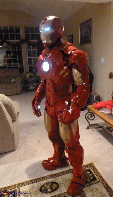 coolest homemade iron man costume