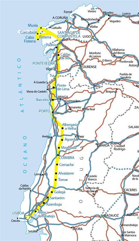 camino de santiago portugal el camino portugu 233 s anaya touring