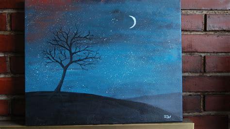 watercolor tutorial night sky image gallery night sky painting tutorial