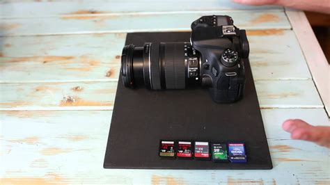 best sd card for canon 70d canon 70d review buffer speed and sd card write speed