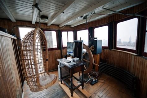 houseboats nyc last surviving ellis island ferry transformed into