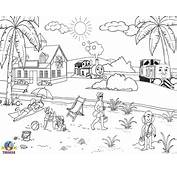 Beach Coloring Pages  Free Printable Pictures