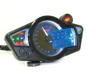 Voltmeter Volt Meter Led Koso Universal Nmax Vixion R25 R15 Xabre Dll koso digital tachometer drehzahlmesser led