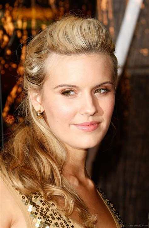 maggie grace puff hairstyle