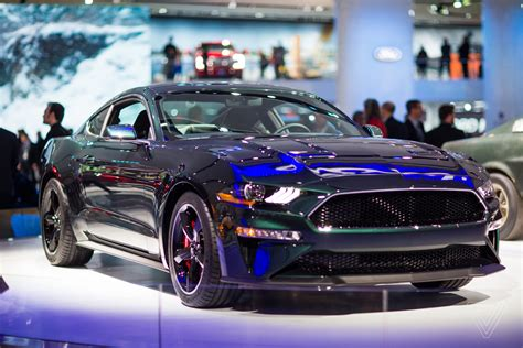 Mustang Auto Ford by The Return Of Ford Mustang Bullitt At Auto