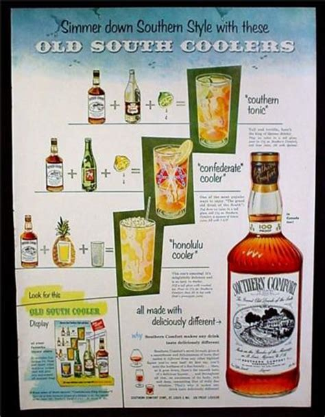 southern comfort magazine magazine ad for southern comfort alcohol old south