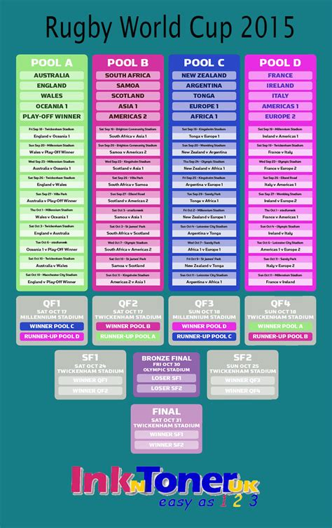 printable calendar rugby world cup 2015 print rugby world cup 2015 fixtures search results