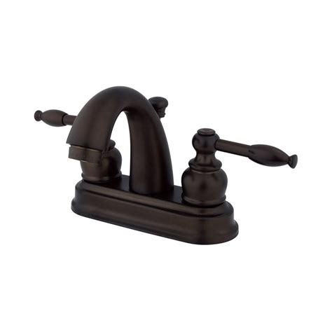 bathroom faucets denver shop elements of design denver oil rubbed bronze 2 handle