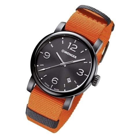 Wenger 01 1041 134 Original wenger 01 1041 131 metropolitan orange black steel swiss mens chronospride