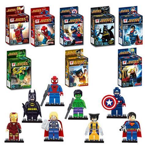 Block Lego Minifigure Iron 1 Set 8 Pcs Termurah buy wholesale lego superheroes minifigures from