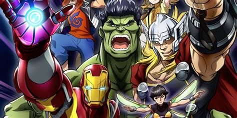 Avangers Series marvel announces future tv anime series