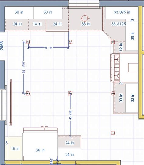 Garage Planning by Recessed Lighting Layout For Kitchen