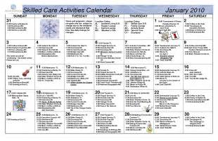 assisted living activity calendar template 28 assisted living activity calendar template nursing