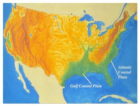 gulf coastal plain map smart exchange usa map of the gulf coastal and the