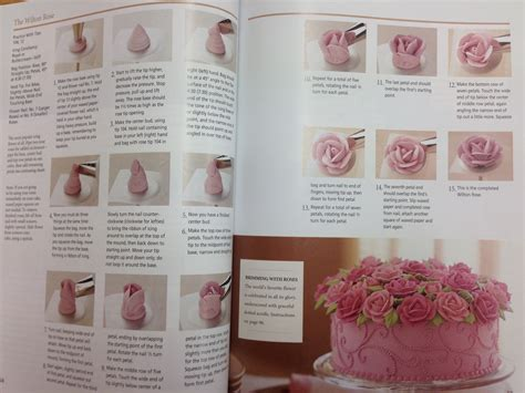 The Wilton School Of Cake Decorating by The Wilton School Of Decorating Cakes Book