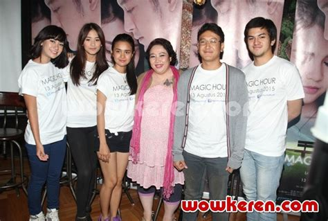 launching film magic hour foto press conference film magic hour foto 26 dari 38