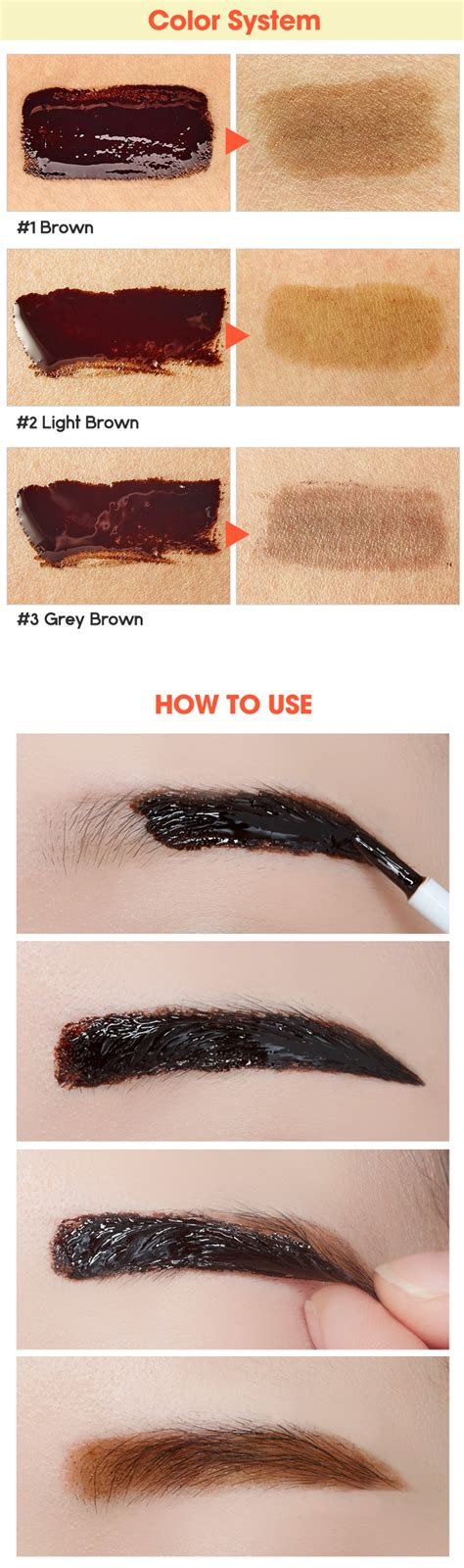 Eyebrow Etude House Tint My Brow Gel etude house tint my brows gel 5g eyebrow liner ebay