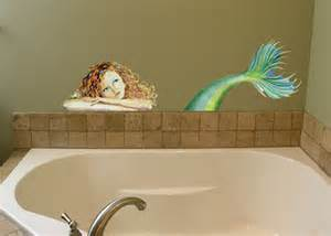 mermaid wall mural mermaid mural wall decal