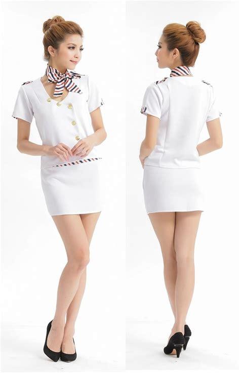 flight attendant stewardess ol hostess dress