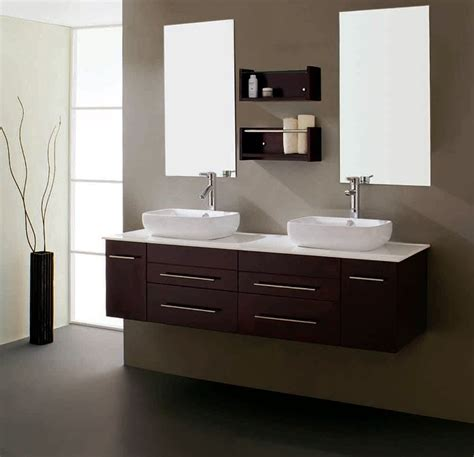 Two Vanities In Bathroom Modern Bathroom Vanity Ii