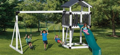 amish made swing sets swing sets for adventure