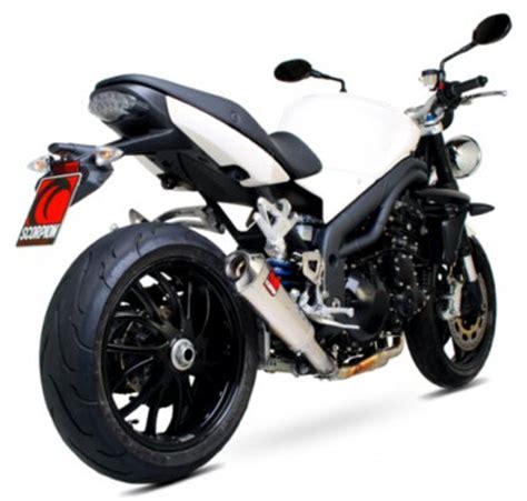 Knalpot Racing Scorpion Power Karbon Free Slip On 250cc triumph speed 1050 08 10 scorpion powercone exhaust