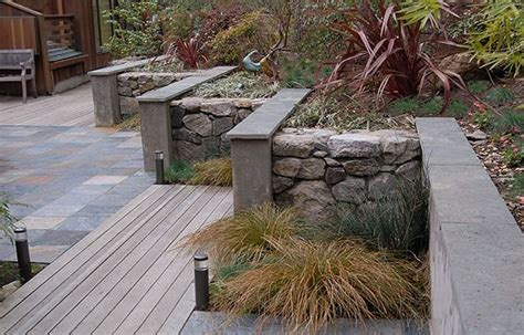 Retaining And Landscape Wall Walnut Creek Ca Photo Garden Wall Materials