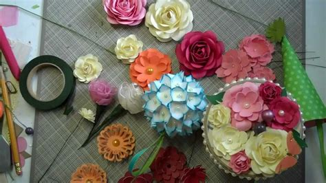 tutorial paper flower bouquet mother s day bouquet paper flower tutorial youtube
