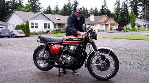 1975 honda cb750 1975 cb750 start up