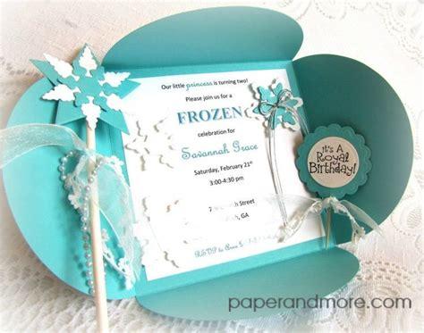 Handmade Frozen Invitations - risultati immagini per handmade frozen invitations