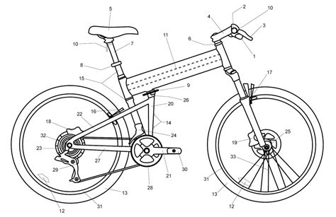 bike seat parts diagram owner s manual montague bikes