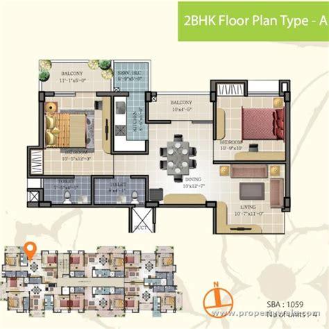 2bhk floor plan maa tara rathnam bommasandra bangalore apartment