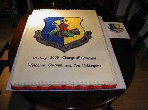 change of command cake my creations pinterest cakes