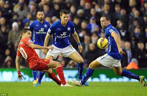60 mins with steven gerrard lfchistory stats galore liverpool 2 2 leicester city steven gerrard nets two