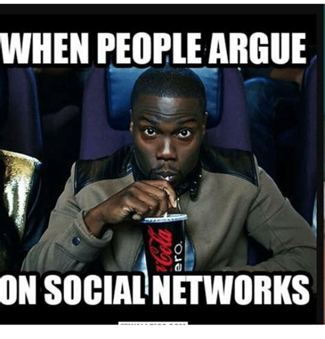 Social Network Meme - when people argue on social networks meme on me me