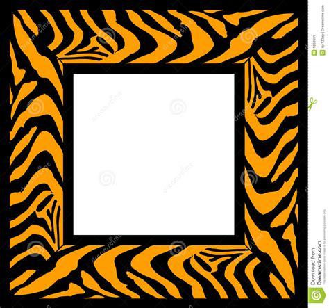 zebra pattern frame zebra pattern frame stock image image 1068991