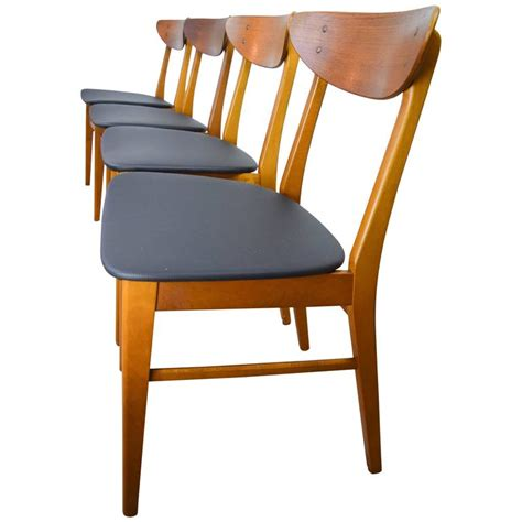 Beech Dining Chairs Teak And Beech 210 Farstrup Dining Chairs At 1stdibs