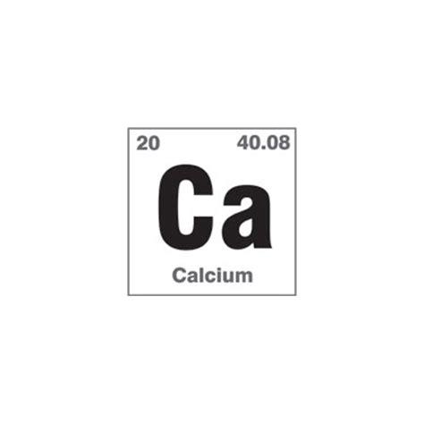 Calcium On Periodic Table by Calcium Element On The Periodic Table Www Pixshark