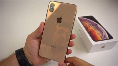 apple iphone xs max goldgb unboxing hands  erster eindruck touchbenny youtube